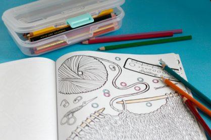 Coloring Book Supplies