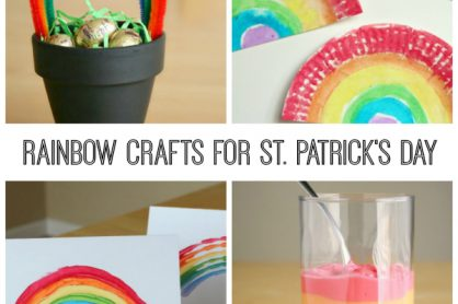 Rainbow Crafts for St. Patrick's Day