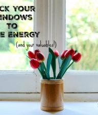 Lock Windows to Save Energy