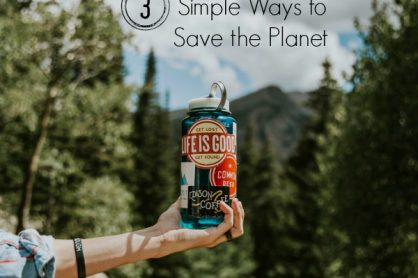 3 Simple Ways to Save the Planet