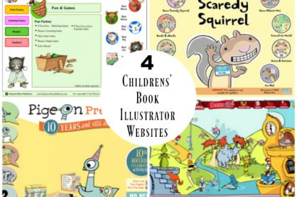 4 Childrens' Book Illustrator Websites