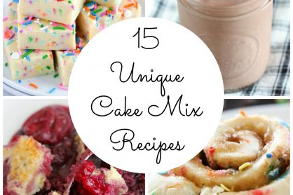 15 Cake Mix Recipe Ideas