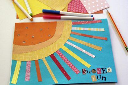 Sunshine summer journal for kids