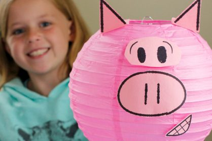 Featured Piggie Paper Party Lantern