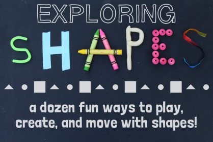 Fun ways to explore shapes with kids