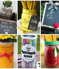 15 Back to School DIY Teacher Gifts