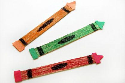 back to school crayon craft 4