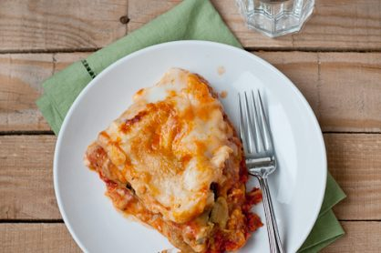 Make Slow-Cooker Roasted Vegetable Lasagna