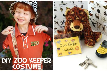 DIY Zoo Keeper Costume