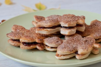 Jam-Filled Pie Crust Cookies