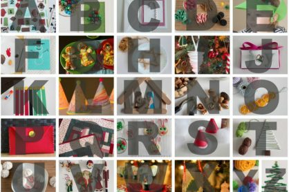 Holiday ABC Craft Ideas
