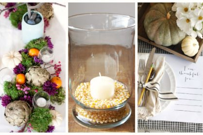 Thanksgiving DIY Tablescapes