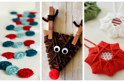 9 DIY Yarn Ornaments to Adorn Your Christmas Tree