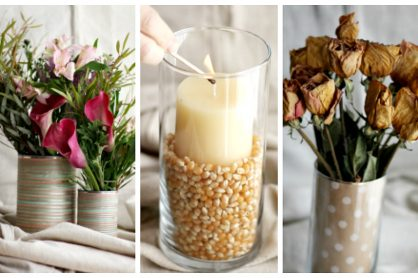 3 DIY Vase Ideas with 1 Vase