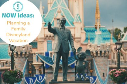 9 Ideas for Planning a Family Disneyland Vacation