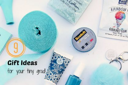 9 gift ideas for your tiny graduate