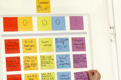 Craft a Family Summer Bucket List