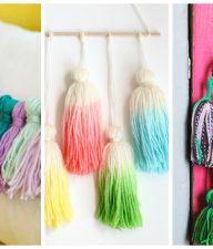 12 Totally Fun Yarn Tassels to Craft