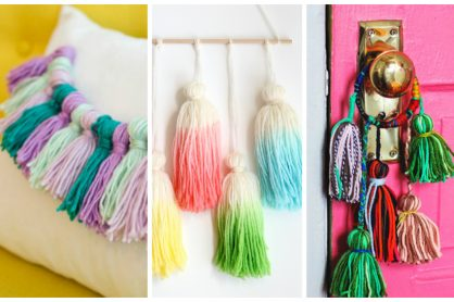12 Totally Fun Yarn Tassels to Craft