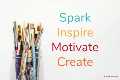 MakeandTakes Spark Inspire Motivate Create