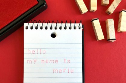 Hello my name is Marie