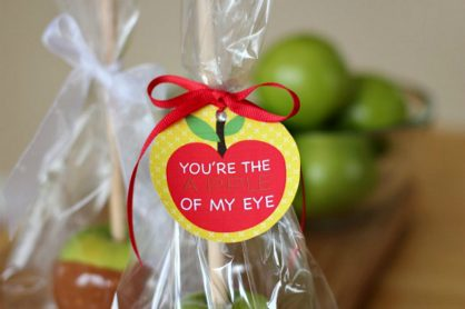 Back to School Apple Printable Tag