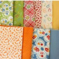 Quilt fabric stack