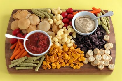 Keeping Snacking Fun with an After School Snack Board