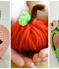 Cute Apple Yarn Projects to Make