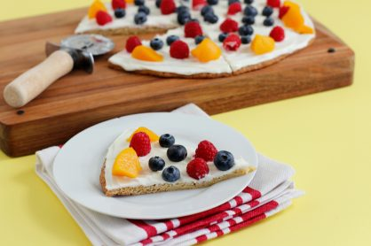 Bake Up Cake Mix Fruit Pizza