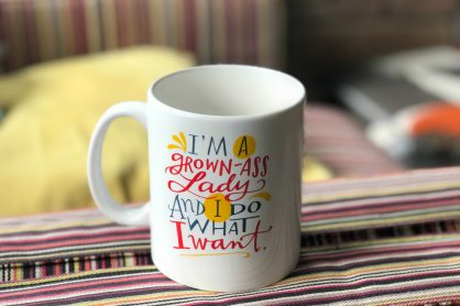 Grown Ass Lady Mug Mantra