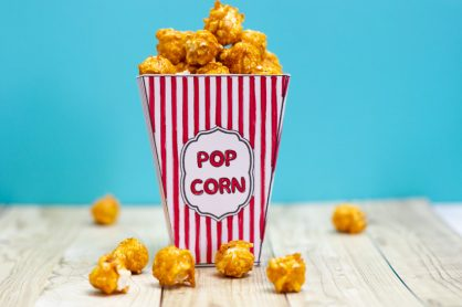 Use your home printer to print off these free DIY Movie Popcorn Box templates, Color in, fill with popcorn, and use for a movie night with your kids!