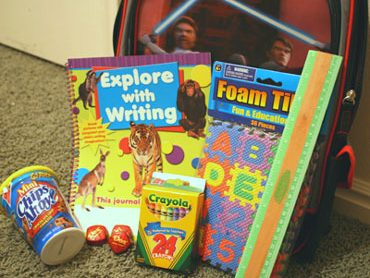 Backpack First Day of School Fairy