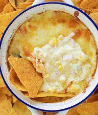 Cheesy Hot Corn Dip Recipe