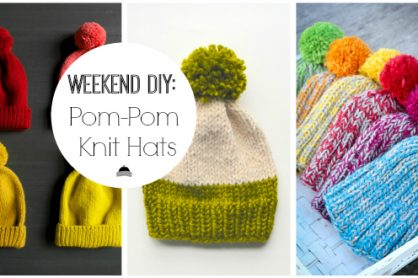 Weekend-DIY-Pom-Pom-Knit-Hats