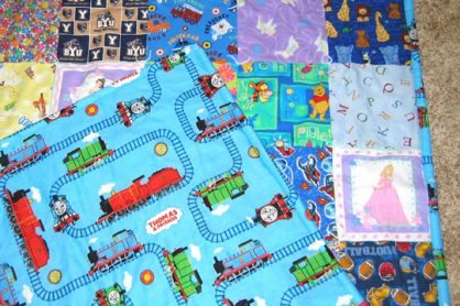 I Spy Quilt for Kids