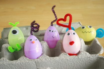 Silly Alien Easter Egg Creatures