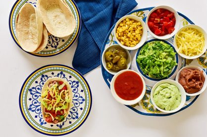 How to Make a DIY Taco Bar
