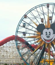 Mickey Wheel Disneyland