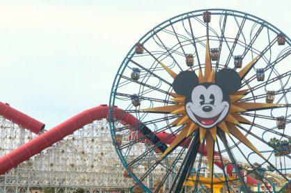 Mickey Wheel Disneyland