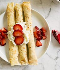 Simple Crepes Recipe
