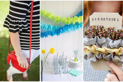 DIY Ruffles Projects