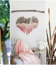 DIY Tree Branch Home Decor