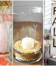 9 Ideas for Simple Fall Decor