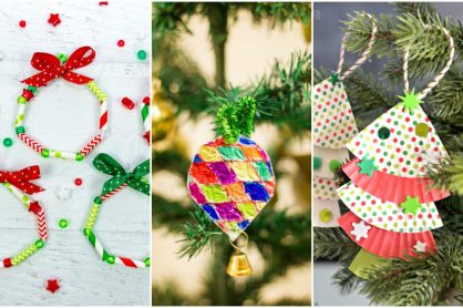 9 kid-made ornament ideas