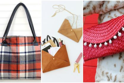 9 DIY Handbag Tutorial Ideas