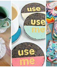 9 DIY Coaster Ideas