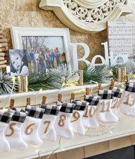 countdown to christmas handmade advent calendar