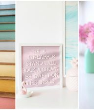 Pastel DIY Decor Ideas