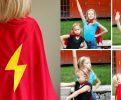 DIY No-Sew Superhero Cape